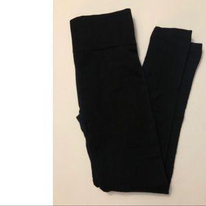 NWOT Black Fleece Leggings